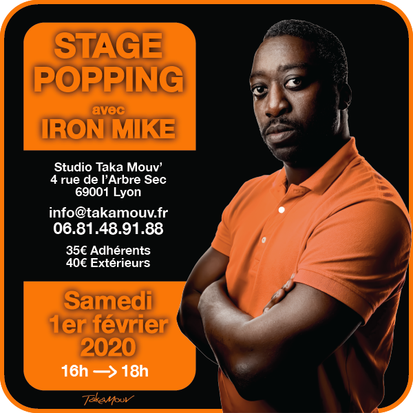 Stage Popping Iron Mike