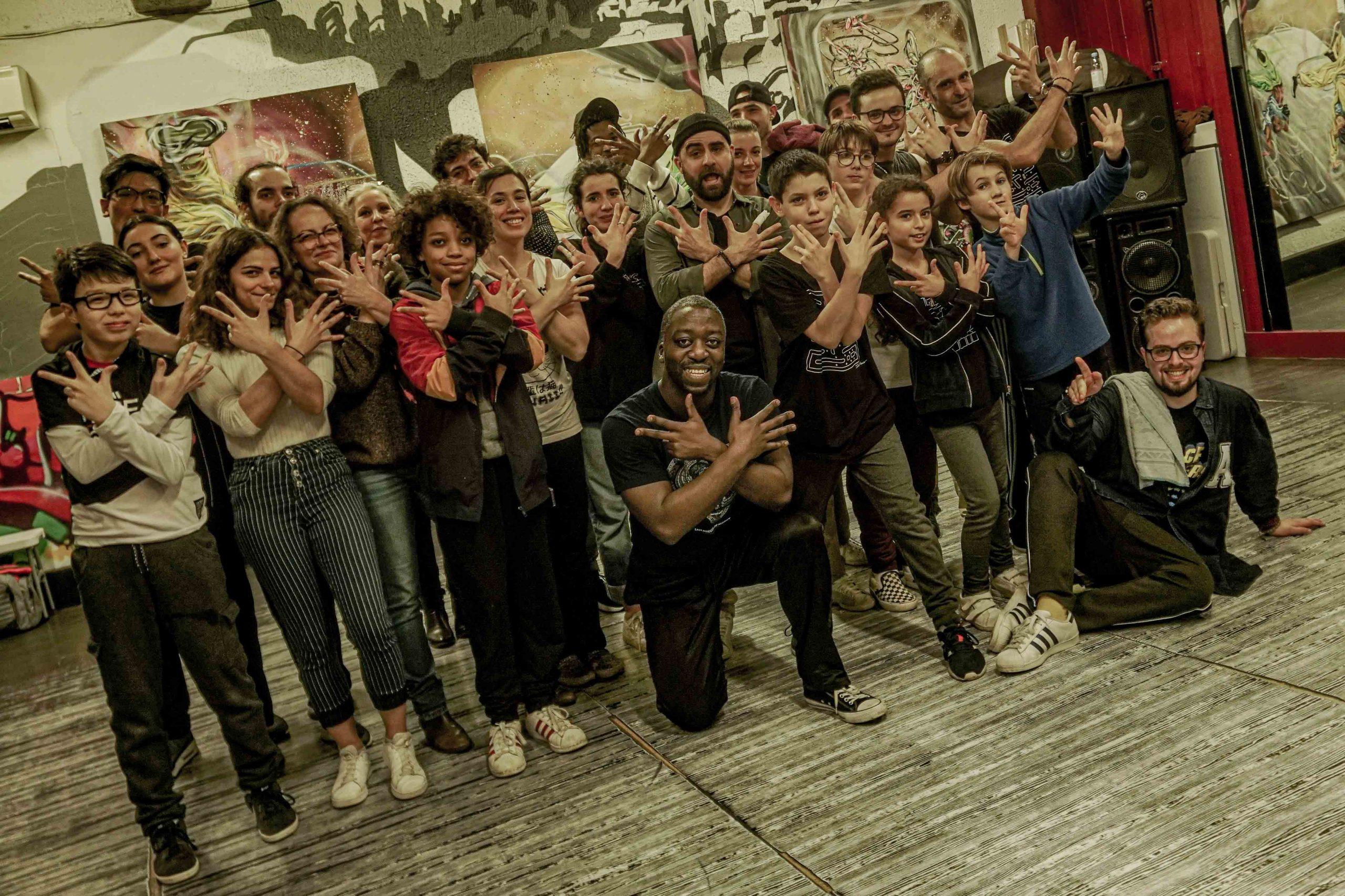 workshop masterclass stage popping hip hop à takamouv lyon centre