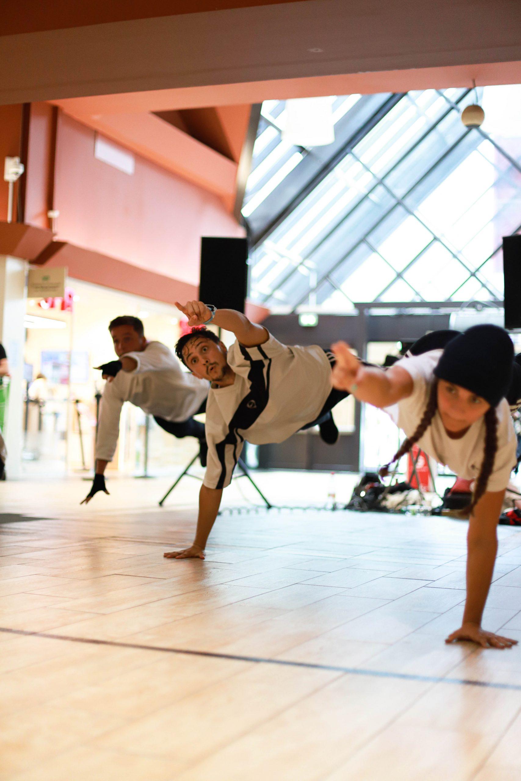Show danse hip hop Takamouv pour NRJ casino albertville